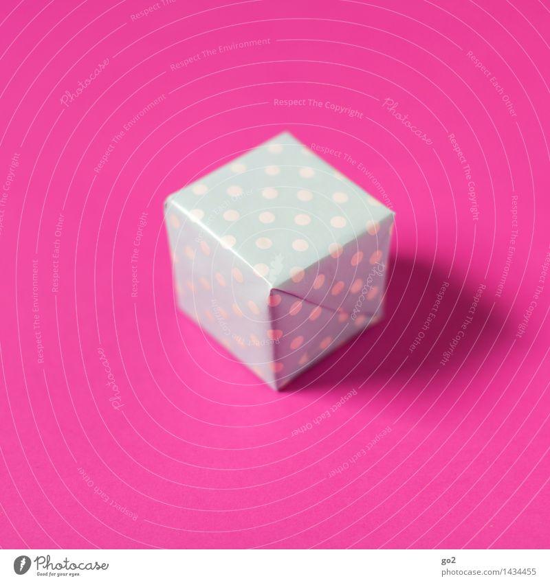 Für Ihn kaufen Valentinstag Muttertag Weihnachten & Advent Geburtstag Verpackung Paket Geschenk Geschenkpapier Punkt ästhetisch einfach klein blau rosa