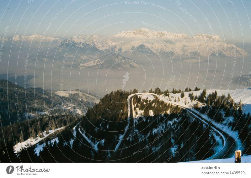 Hohe Tatra Berge u. Gebirge Europa Felsen Ferne Himmel Hochgebirge Landschaft Panorama (Aussicht) Panorama (Bildformat) Pass Wege & Pfade Fußweg