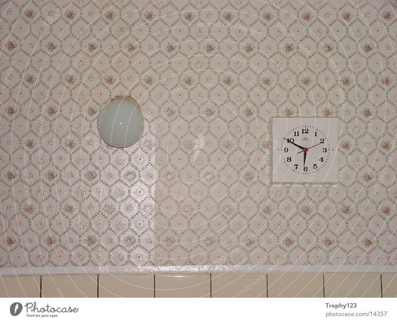 Küche alt Lampe Uhr Fototechnik