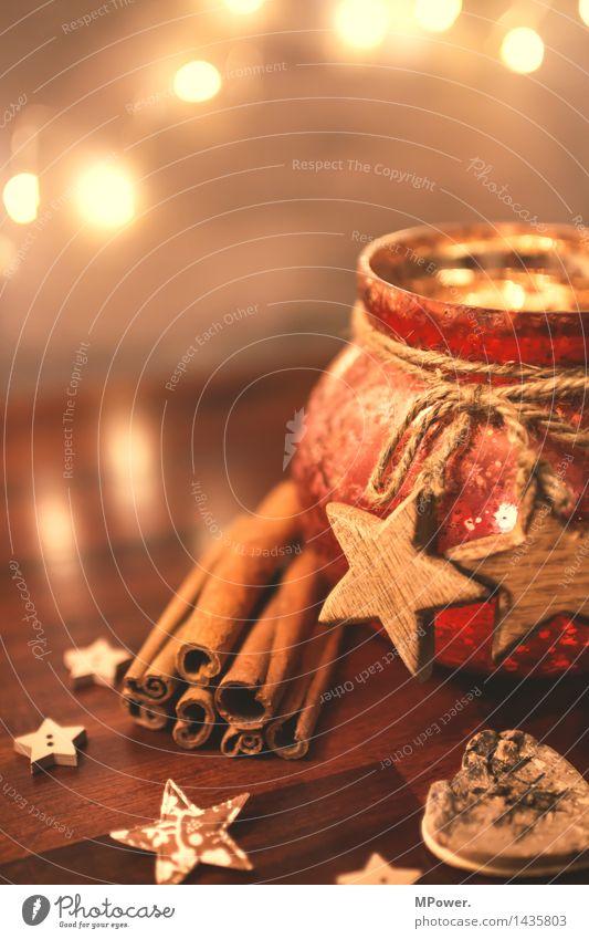 dekokrams Dose Kamm Schleife Kitsch Krimskrams Gartenzwerge Holz Glas Gold nah Weihnachten & Advent Dekoration & Verzierung Weihnachtsdekoration Stern Zimt