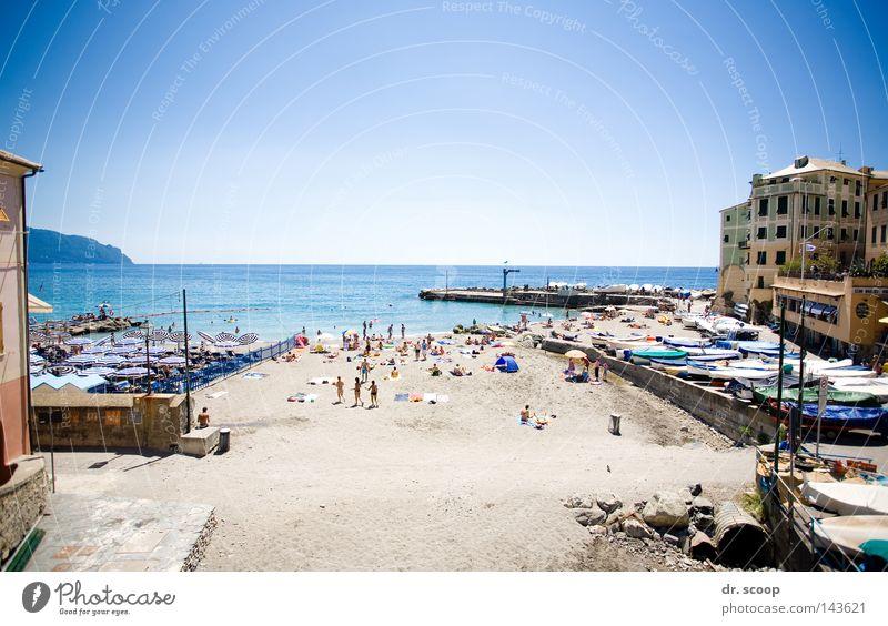 The Beach Meer Sommer Strand Ferien & Urlaub & Reisen ruhig Erholung Freizeit & Hobby Italien