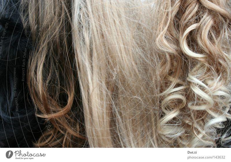 fake fur floosies schön feminin Stil Haare & Frisuren braun blond lang brünett falsch Locken Verschiedenheit langhaarig Glätte verschönern Accessoire Haarsträhne