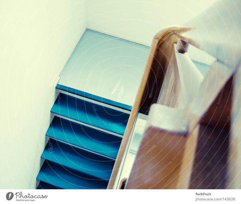 Aufgang oben gehen hoch Perspektive Treppe Kontrolle aufwärts steigen Flur abwärts aufsteigen Video Treppenhaus Linse Überwachung Steigung