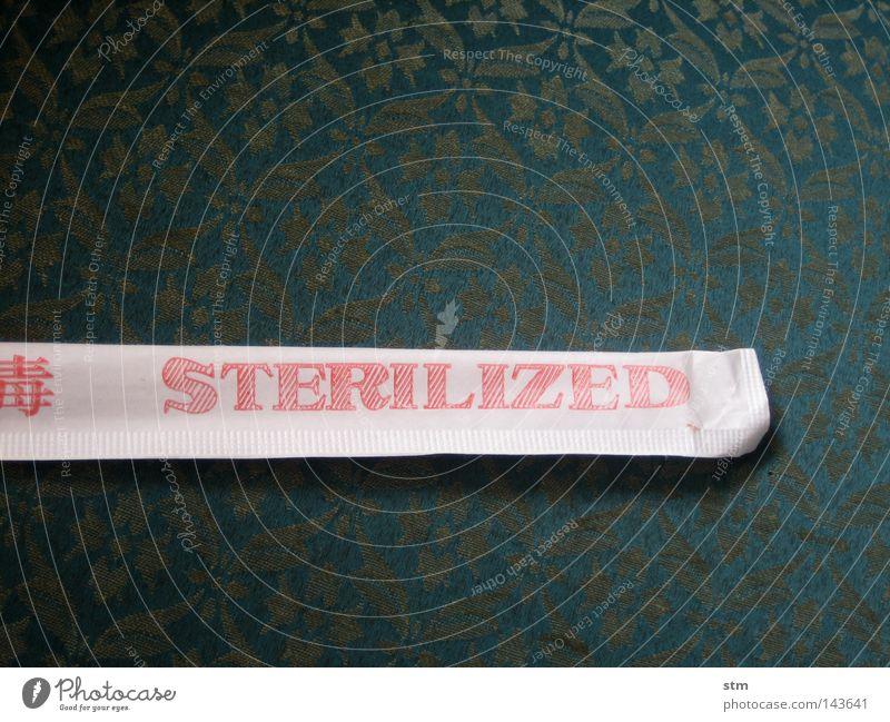sterilized Gesundheit Papier Asien Sauberkeit Sofa Stoff Hülle steril Besteck Essstäbchen