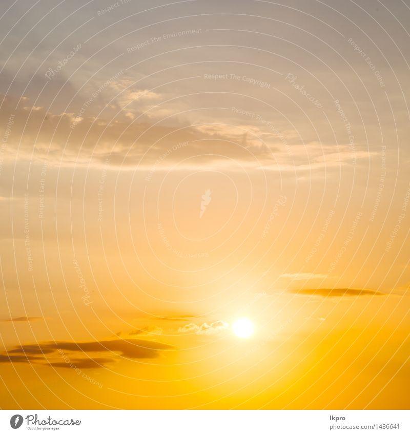 Sonnenaufgang orange Farbe Himmel Natur blau Himmel (Jenseits) schön Sommer rot Landschaft Wolken Umwelt gelb Wärme hell Wetter