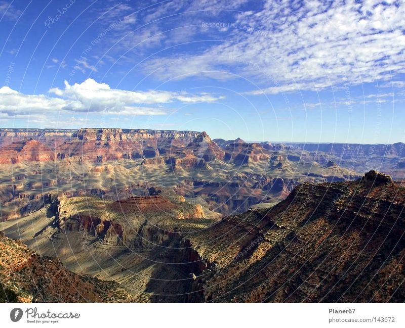 Mountainhigh schön Himmel Berge u. Gebirge Freiheit fliegen frei USA Aussicht Unendlichkeit Schweben