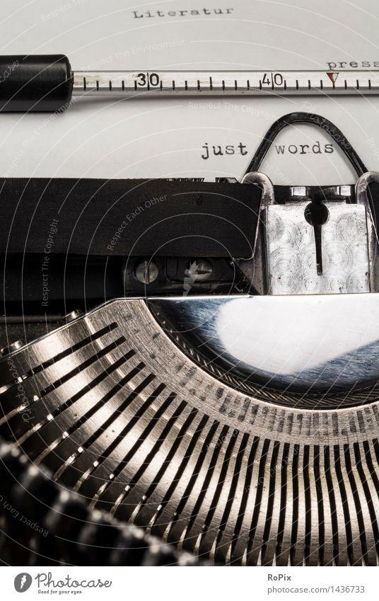 just words Erholung Denken Kunst Schule Metall Büro ästhetisch Technik & Technologie Kommunizieren lernen Buch einfach Kultur Papier planen lesen