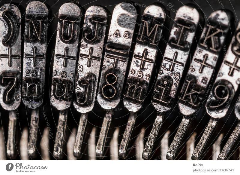 Schriftzeichen Kunst Schule Business Metall Arbeit & Erwerbstätigkeit lernen Buch Industrie Zeichen Ziffern & Zahlen Bildung Erwachsenenbildung Fabrik Medien