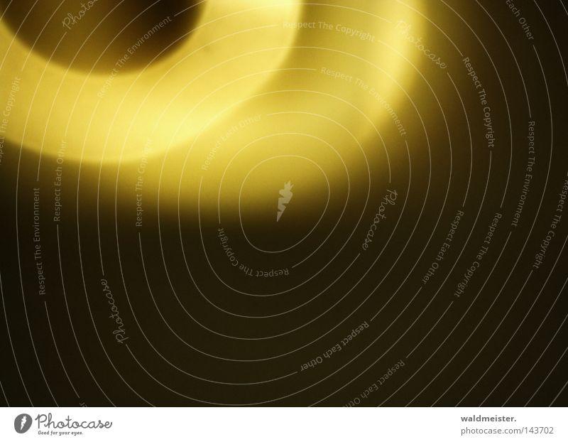 L.I.P. WRN|08 gelb dunkel hell Kreis Zukunft obskur abstrakt Fortschritt Lichteffekt Spiegellinsenobjektiv (Effekt)