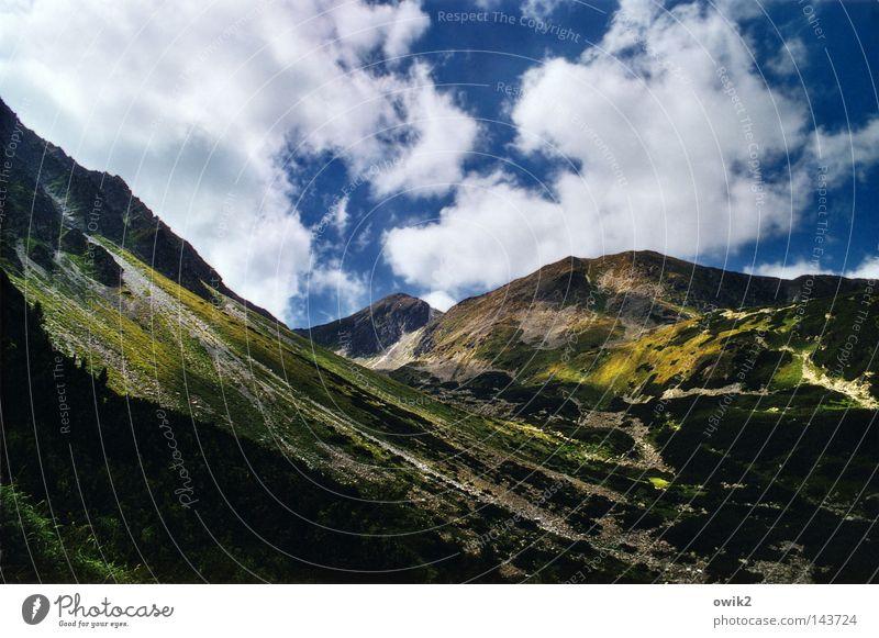 Erosion Himmel Pflanze Wolken Landschaft kalt Berge u. Gebirge Wand oben Stein Luft Horizont Wetter groß hoch gefährlich Macht