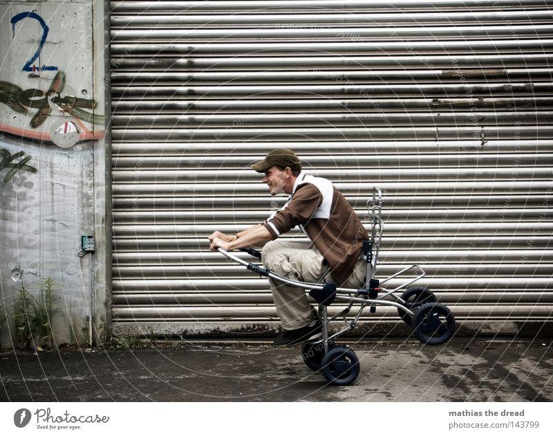 BLN 08 | CRAZY KID Erwachsene Kinderwagen Rolltor 1 Mensch
