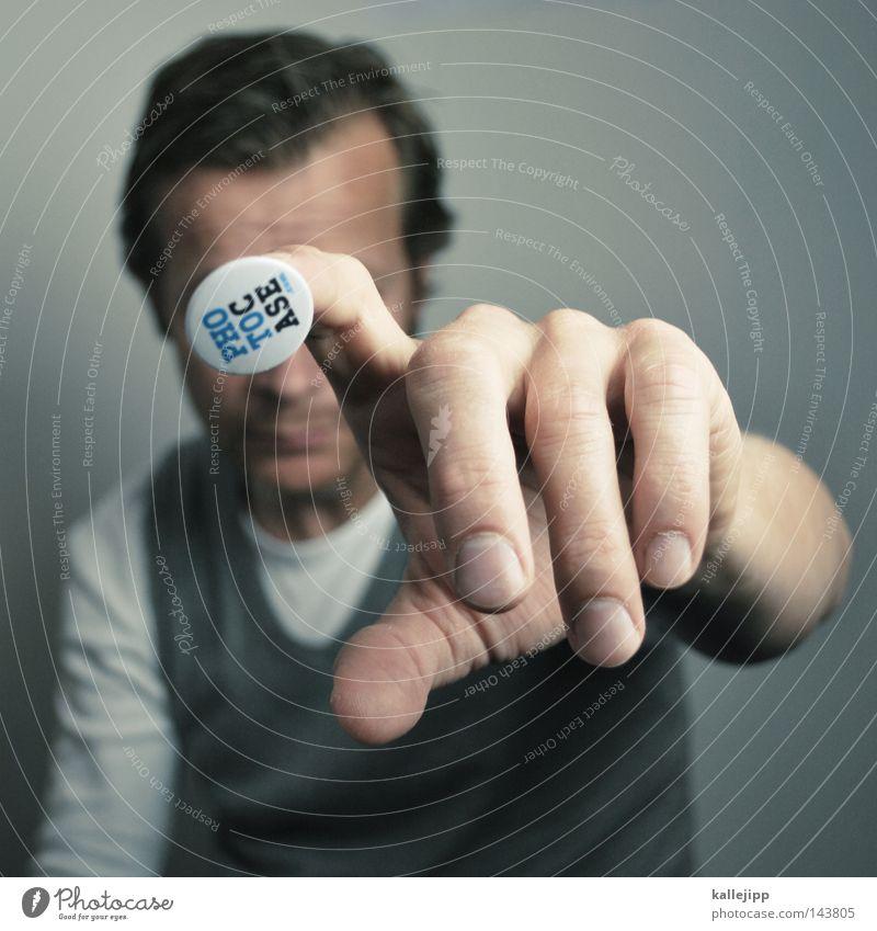 la chamandu - keep in touch Mensch Mann Freude Schilder & Markierungen Haut Finger berühren Hand Schuhe Schmerz Werbung Gott Werbebranche Identität Knöpfe Blut