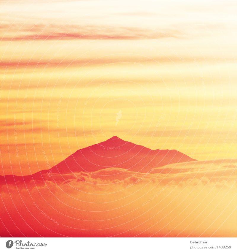 sekundäres geschlechtsmerkmal liegend Ferien & Urlaub & Reisen Tourismus Ausflug Abenteuer Ferne Freiheit Landschaft Himmel Wolken Sommer Schönes Wetter Nebel