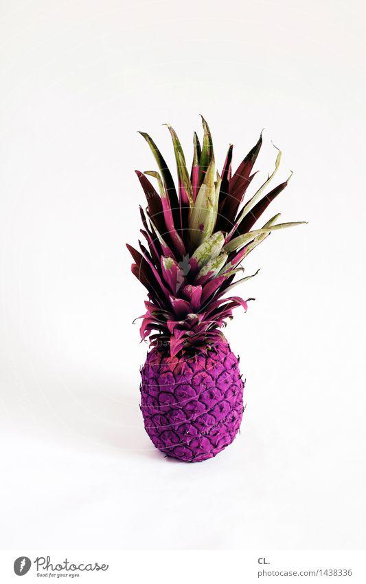 es ist was es ist Farbe außergewöhnlich Lebensmittel Frucht ästhetisch Ernährung Kreativität einzigartig violett Inspiration skurril innovativ Ananas