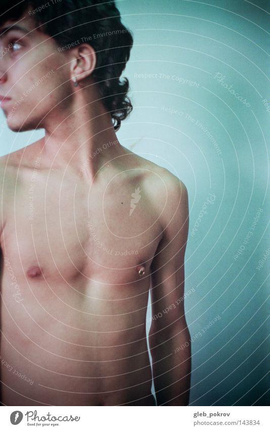 Mensch Mann Straße Gesundheit Körper Haut Behaarung Hals Russland Piercing Akt Porträt Sibirien