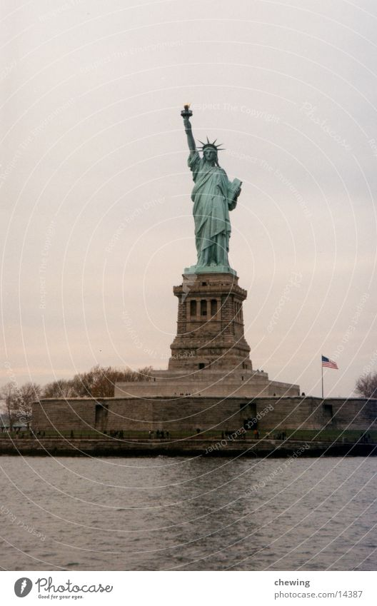 FreiheitsStatue New York City Stadt Stadtteil Nordamerika USA manhatten Freiheitsstatue