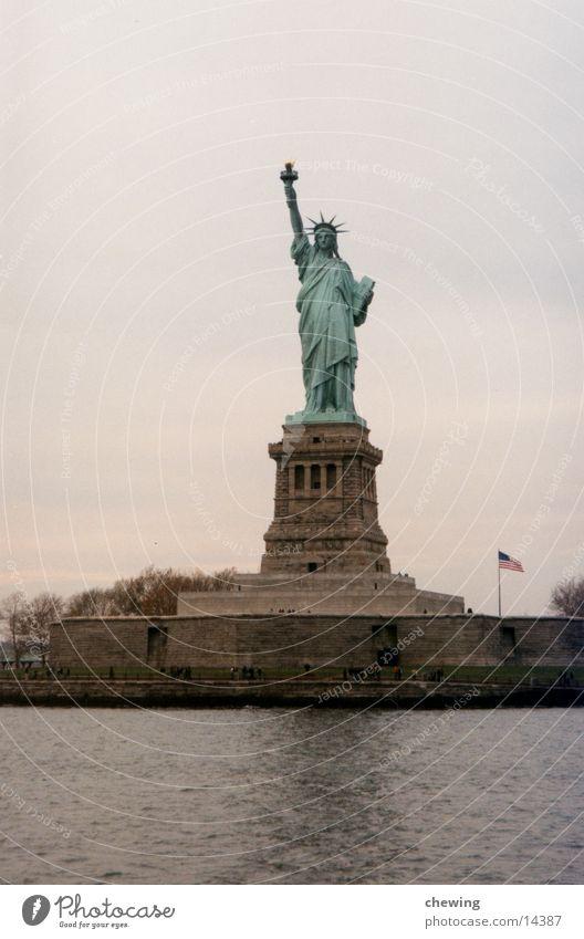 FreiheitsStatue Stadt USA Stadtteil New York City Freiheitsstatue Nordamerika