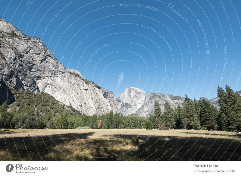 Yosemite Valley Leben harmonisch Wohlgefühl Zufriedenheit Ferien & Urlaub & Reisen Ausflug Abenteuer Ferne Freiheit Umwelt Natur Landschaft Urelemente Himmel