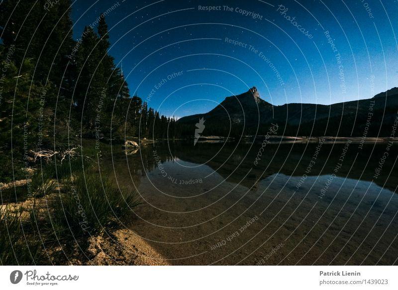 Nacht und Tag Himmel Natur Ferien & Urlaub & Reisen Sommer Erholung Landschaft ruhig Ferne Berge u. Gebirge Umwelt Leben See Zufriedenheit Wetter Wellen wandern