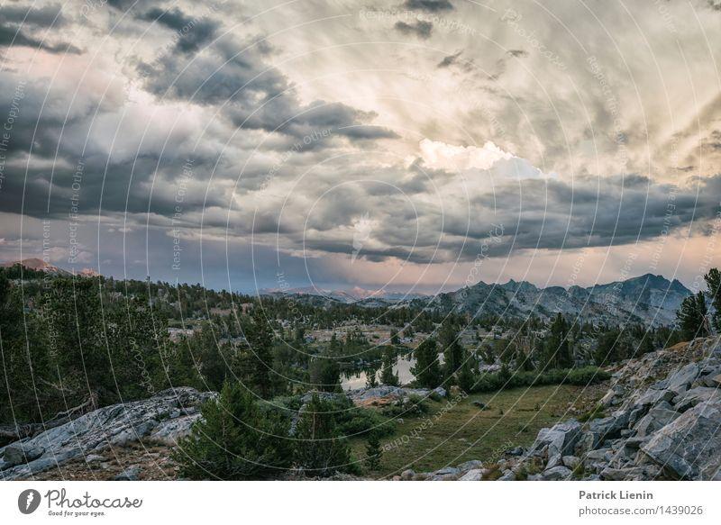 Cloud Surfing Zufriedenheit Erholung Ferien & Urlaub & Reisen Ausflug Abenteuer Ferne Freiheit Berge u. Gebirge wandern Umwelt Natur Landschaft Urelemente Erde