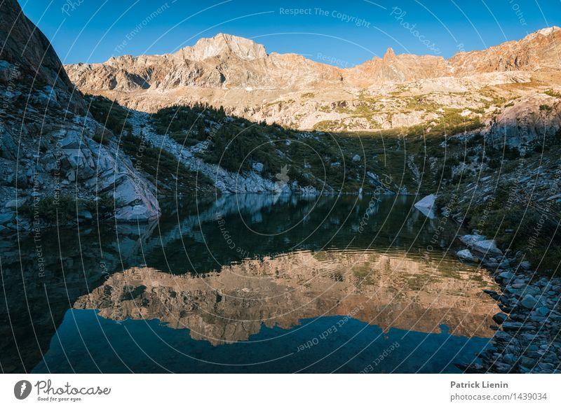 Reflections harmonisch Wohlgefühl Zufriedenheit Sinnesorgane Ferien & Urlaub & Reisen Ausflug Abenteuer Ferne Freiheit Berge u. Gebirge wandern Umwelt Natur