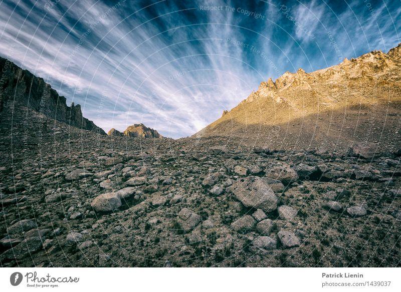 Kings Canyon National Park Wohlgefühl Zufriedenheit Sinnesorgane Erholung Ferien & Urlaub & Reisen Abenteuer Ferne Freiheit Umwelt Natur Landschaft Urelemente