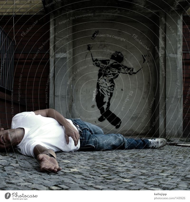 treffen Mensch Mann Stadt Tod Wand Graffiti Mauer Stil Kunst Lifestyle Dose Klettern Gewalt Krieg Eingang Bergsteigen