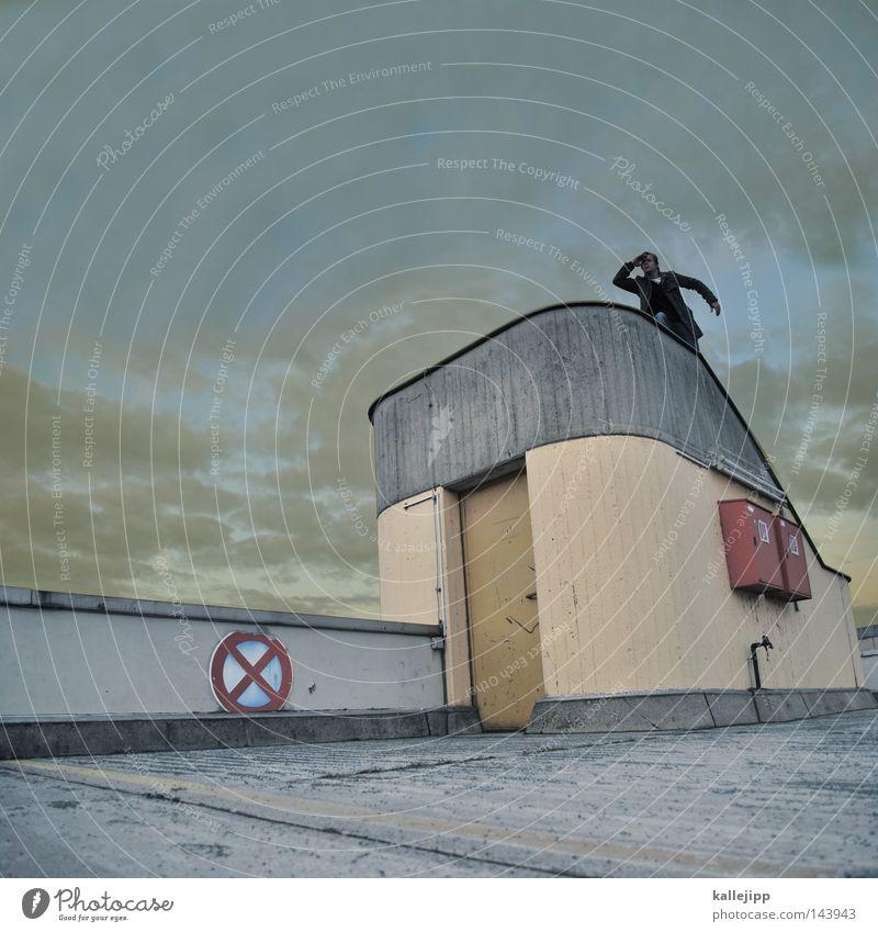 lifeline Mensch Himmel Ferien & Urlaub & Reisen Mann Stadt Meer Wolken Haus Fenster Straße Wand Architektur See Wasserfahrzeug Horizont Wohnung