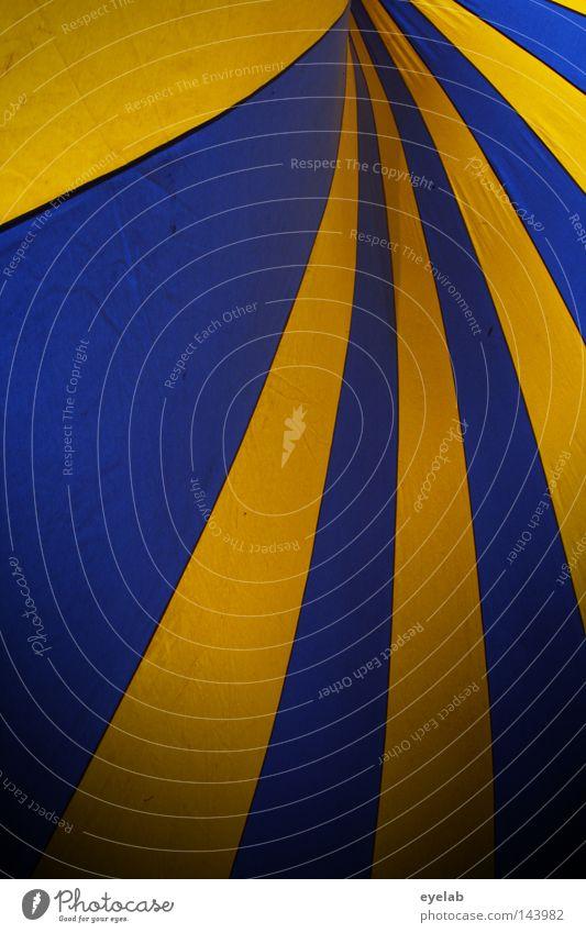 Schweden -Schwung Zelt schlafen Zirkus Zirkuszelt Veranstaltung Bierzelt Einnäher Information Streifen gelb blau-gelb Sommer Dach Ecke Konstruktion Demontage