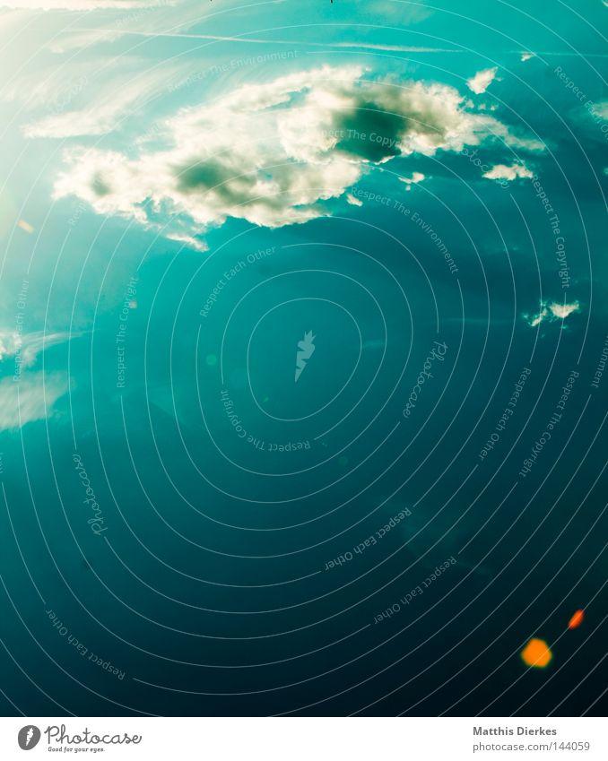 Wolke 7 Himmel blau grün schön Sommer Wasser weiß Meer Wolken Ferne Herbst Hintergrundbild Freiheit Regen Wetter Wind