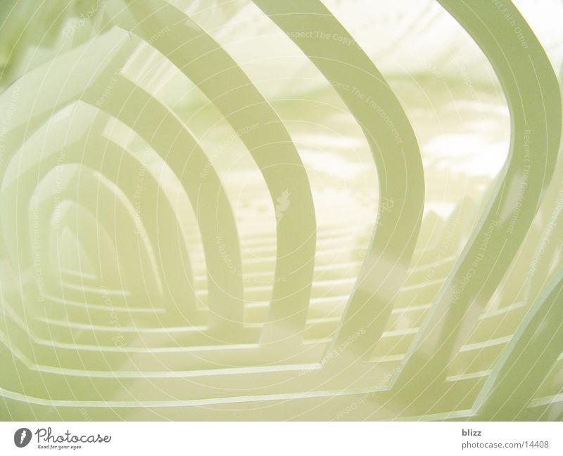 Latente Utopien 3 weiß Linie Architektur Ausstellung Biegung utopisch