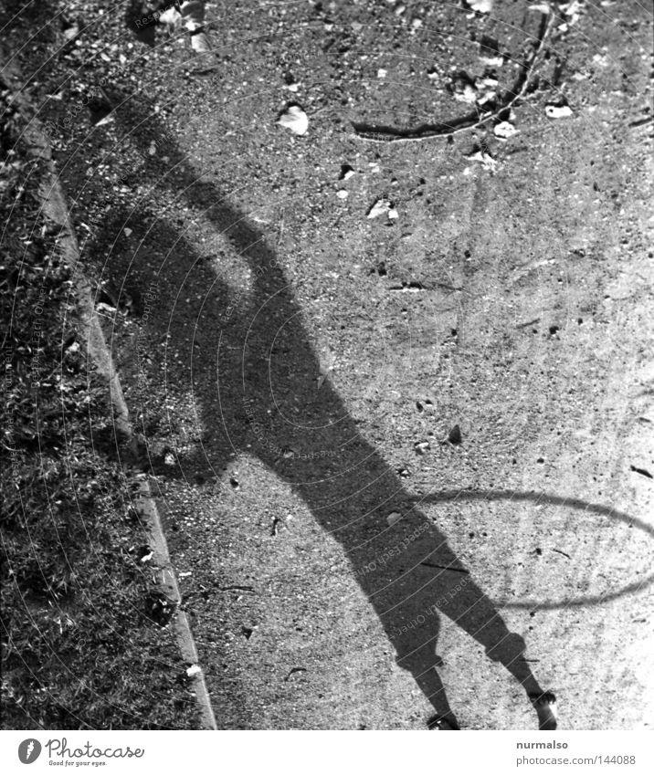Hulahup three Kreis Ring Sechziger Jahre Hüfte kreisen Schwung Kinderspiel Schatten Wege & Pfade Licht schön Fitness Mädchen rosa Unterrock Rock 'n' Roll