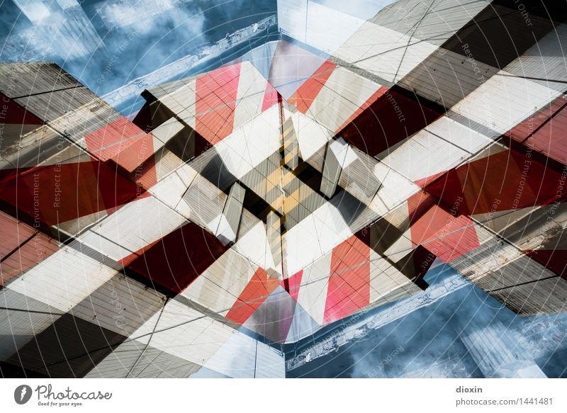 Ihme-Zentrum² Pt.4 Kunst Architektur Hannover Deutschland Niedersachsen Europa Stadtzentrum Menschenleer Haus Hochhaus Bauwerk Gebäude Mauer Wand Fassade Balkon