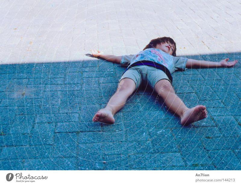Patrick Star² Mensch Kind Junge liegen Stern (Symbol) Bodenbelag