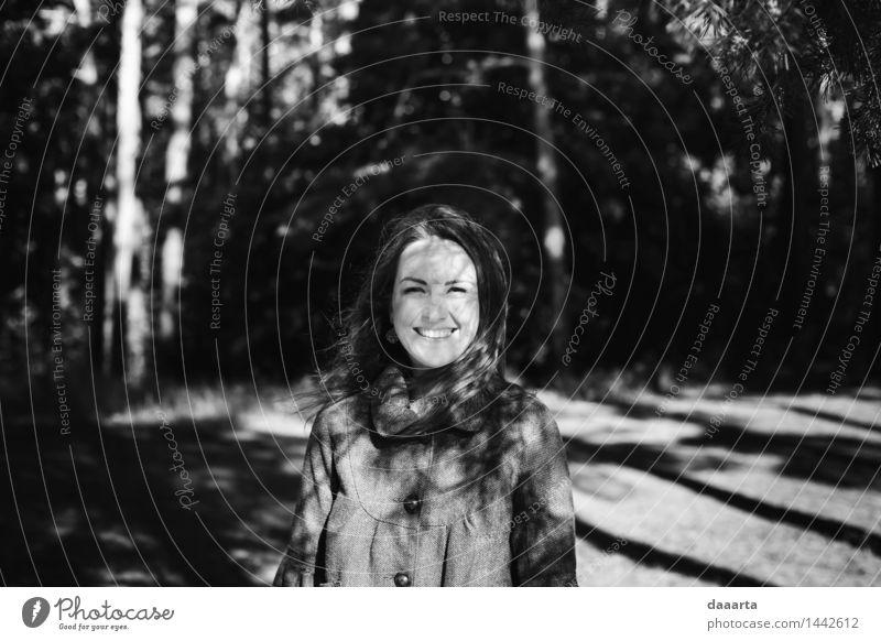 Natur Jugendliche schön Sommer Junge Frau Erotik Freude Wald Leben feminin Stil Spielen Lifestyle Garten Freiheit Stimmung