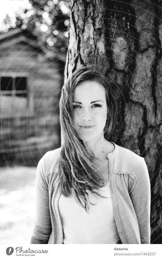 windiges Haar Lifestyle elegant Stil Freude Leben harmonisch Freizeit & Hobby Ausflug Abenteuer Freiheit Sommer Veranstaltung Flirten niedlich Wärme feminin