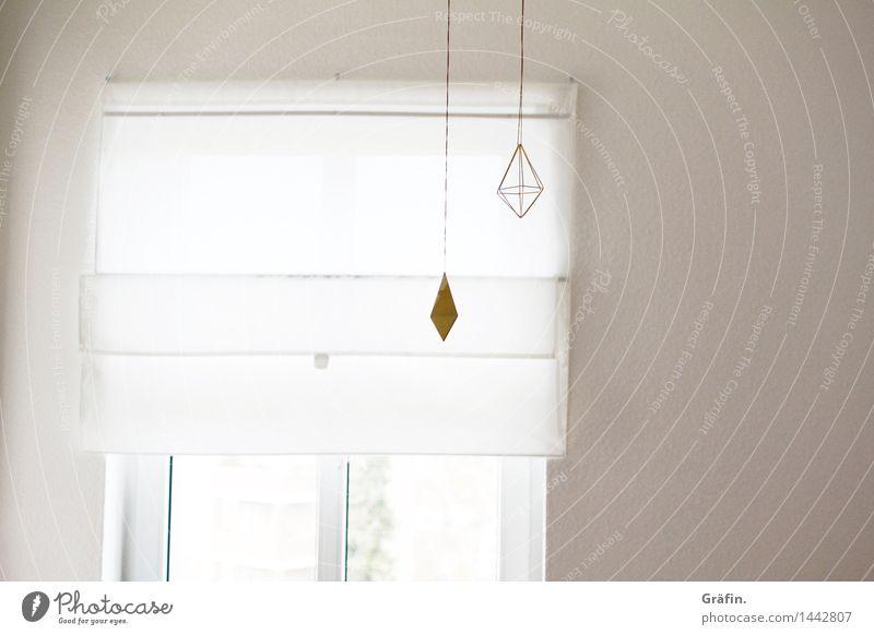 Adventsdekoration weiß Innenarchitektur Design Wohnung Häusliches Leben Dekoration & Verzierung Kitsch rein Wohnzimmer minimalistisch Ordnungsliebe Krimskrams