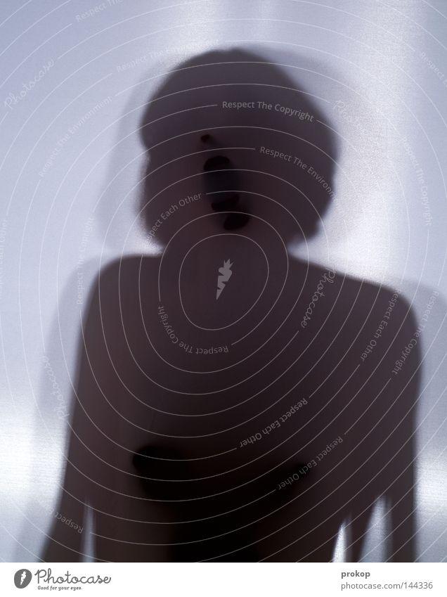 Nähe Frau schön feminin Körper Mund geschlossen Frauenbrust zart nah Brust eng Schulter anonym fein fremd zerbrechlich