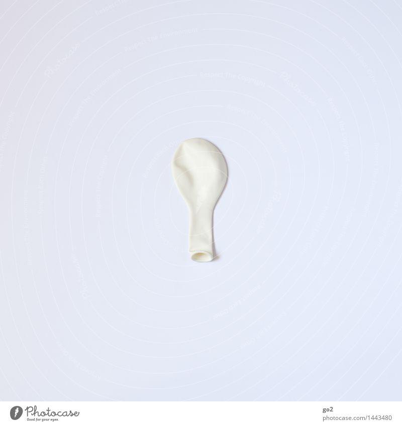 Weiß Farbe weiß Feste & Feiern Party Design Freizeit & Hobby Geburtstag ästhetisch Kreativität einfach Luftballon Hochzeit rein Jahrmarkt Vorfreude Inspiration