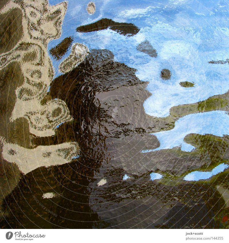 Wunschbild Wohlgefühl Mensch Denken Stimmung Wachsamkeit Erfahrung Farbe Ordnung Wandel & Veränderung Flachglas gestreut Tagtraum Grenze Geister u. Gespenster