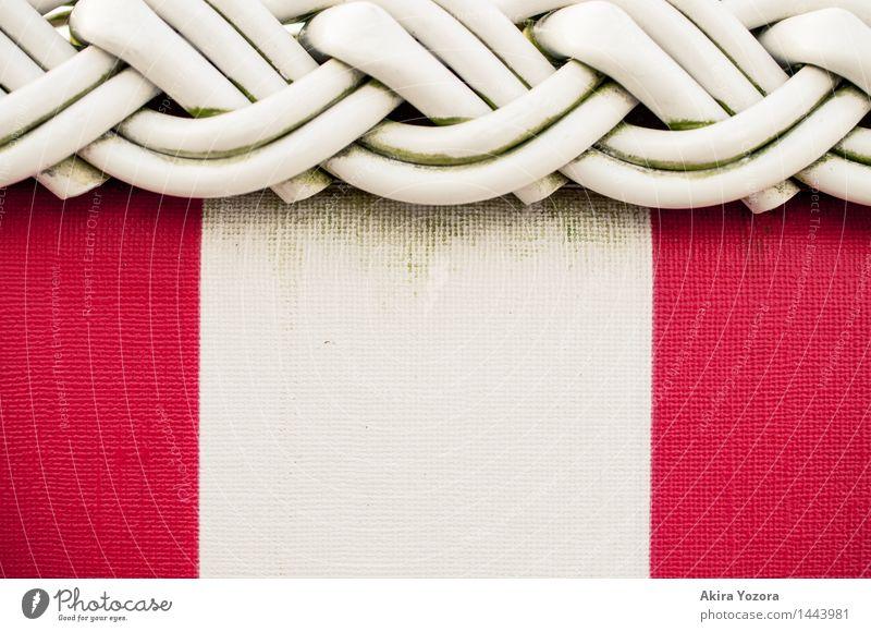 Flechtmuster Wellness Erholung ruhig Schwimmen & Baden Ferien & Urlaub & Reisen Sommer Sommerurlaub Strand Strandkorb Möbel Stuhl gebrauchen berühren genießen