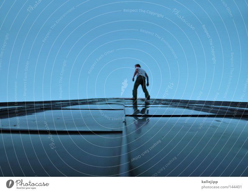 kalle und die techno-hose Mensch ruhig Leben Tod oben Architektur Bewegung Kunst laufen hoch verrückt Geschwindigkeit Kraft gefährlich Aktion