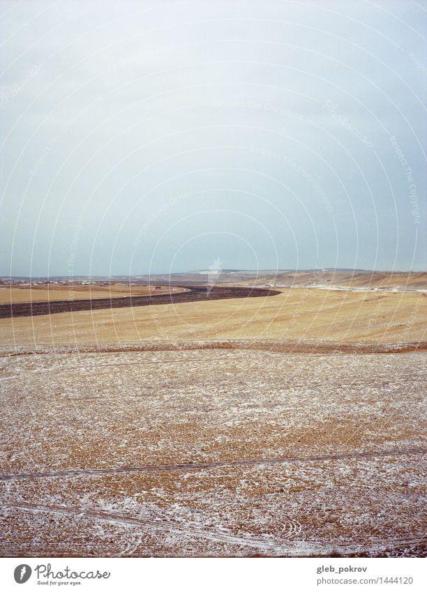 Sibirische Natur Himmel schön Landschaft Wolken Winter Herbst Freiheit Horizont Wetter Feld Erde Eis Abenteuer Landwirtschaft Frost