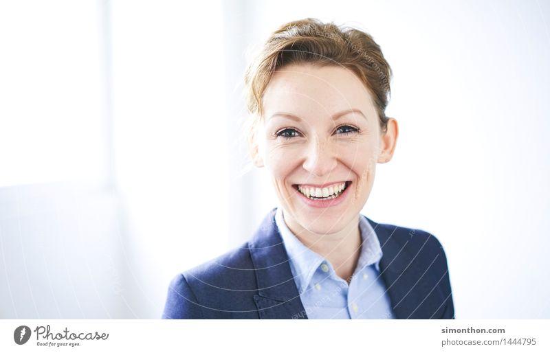 Job Mensch Freude feminin Glück Business Zufriedenheit Büro Kraft Erfolg Fröhlichkeit Idee einzigartig Coolness Glaube Bildung Beruf