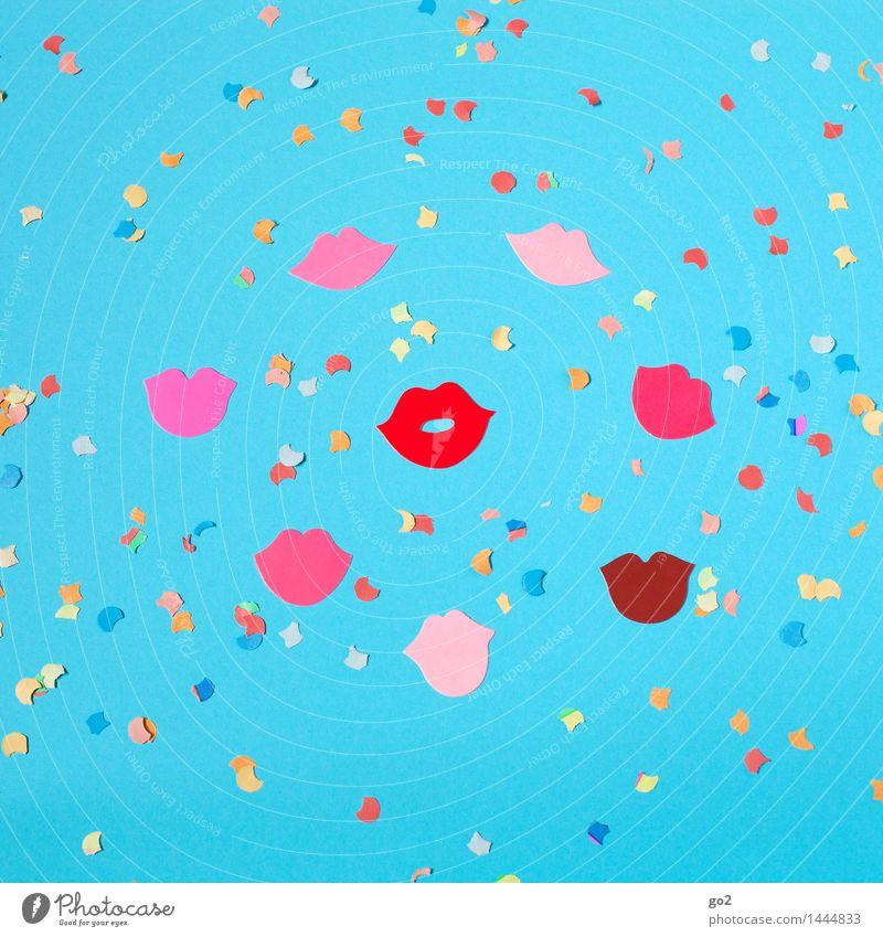 Jubel, Trubel, Heiterkeit Freude Leben Glück Lifestyle Feste & Feiern Party Geburtstag Fröhlichkeit Kommunizieren Mund Hochzeit Show Lippen Veranstaltung Silvester u. Neujahr Karneval