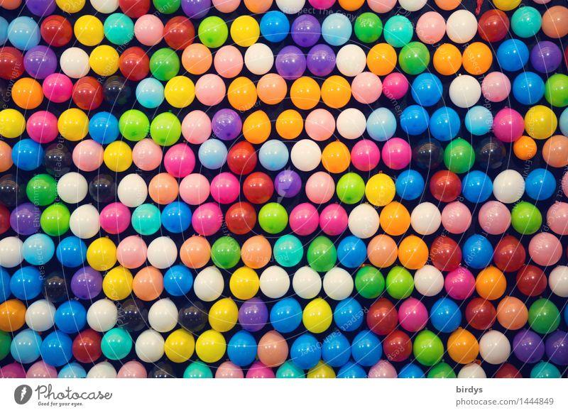 ...ist alles so schön bunt hier Show Party Luftballon glänzend leuchten ästhetisch Fröhlichkeit frisch positiv viele mehrfarbig Freude Farbe formatfüllend