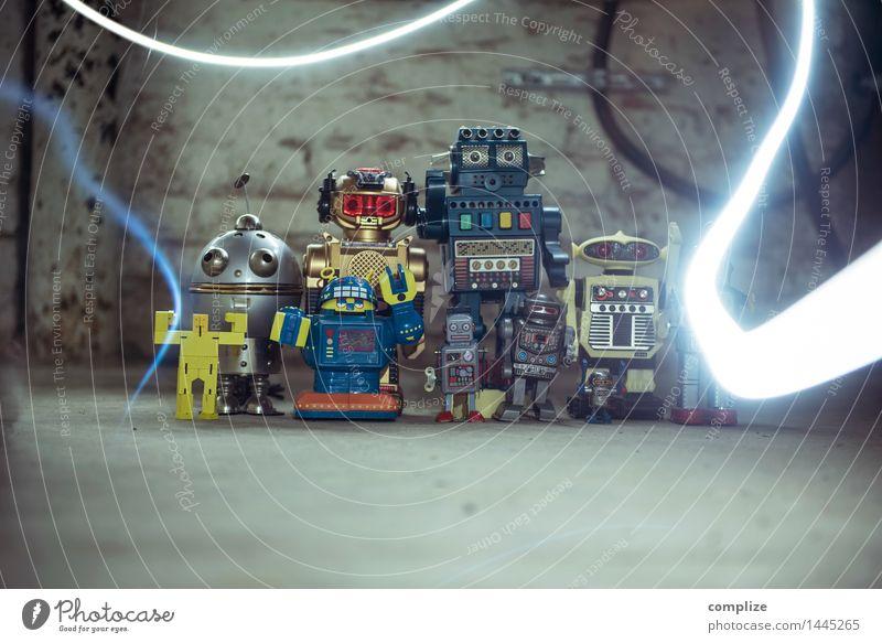 Flash Wand Innenarchitektur Mauer Feste & Feiern Zeit Party Freundschaft Wohnung Design Häusliches Leben Technik & Technologie Zukunft Freundlichkeit Umzug (Wohnungswechsel) Fabrik Technikfotografie