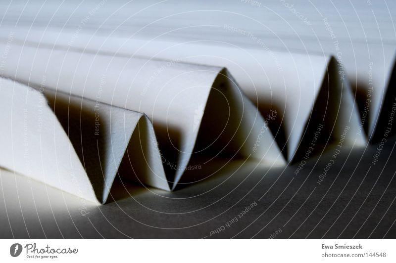 WWW weiß Papier Spielen wie Buchstaben Schatten hell Niveau Typographie Detailaufnahme Schwarzweißfoto Schriftzeichen Kontrast black & white