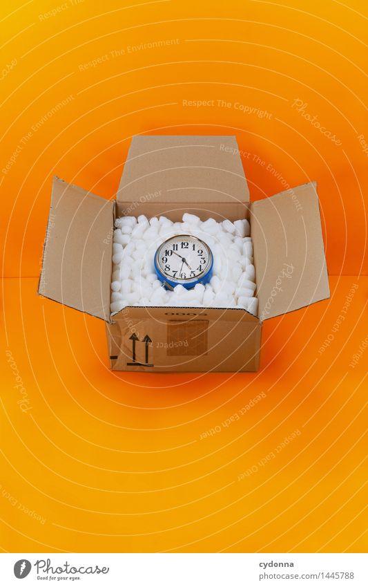 Expressversand Farbe Zeit Business Uhr Beginn Geschwindigkeit Geschenk Idee kaufen planen Hilfsbereitschaft Güterverkehr & Logistik Schutz Sicherheit Ziel Eile