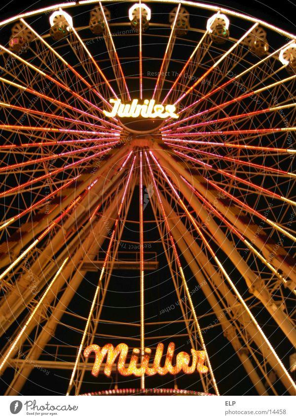 Riesenrad Freude hoch Freizeit & Hobby Jahrmarkt Schausteller